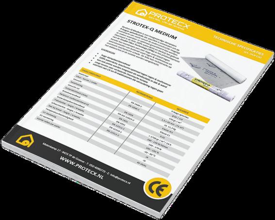 Protecx Dampopen Folie Foliarex Strotex-Q Medium Brochure