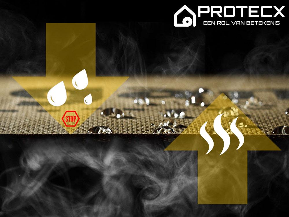 Protecx Productinfo Dampopen Folies de Toepassing